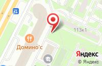 Схема проезда до компании Бизнесинформ в Санкт-Петербурге