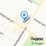 Франки на карте Санкт-Петербурга