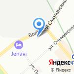 КАУРУС АЛЬЯНС на карте Санкт-Петербурга