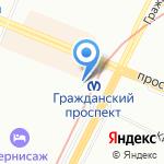 Адвокат Дроздов В.А. на карте Санкт-Петербурга