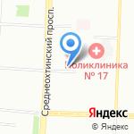 Адвокатский кабинет Сомова С.В. на карте Санкт-Петербурга