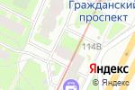 Схема проезда до компании MG в Санкт-Петербурге
