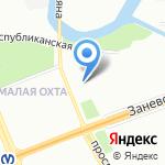 Ассорти-клуб на карте Санкт-Петербурга