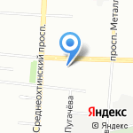 ПЕТЕРБУРГИНЖСТРОЙ на карте Санкт-Петербурга
