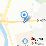 Северо-Западный центр противодействия коррупции в органах Государственной власти на карте Санкт-Петербурга
