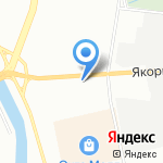Амфора на карте Санкт-Петербурга