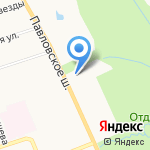 Дом-интернат для детей с отклонениями в умственном развитии №5 на карте Санкт-Петербурга