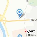 Якорная 6 на карте Санкт-Петербурга