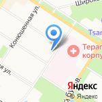 Класс на карте Санкт-Петербурга