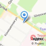 КВИК МАНИ на карте Санкт-Петербурга