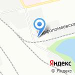 Pit-Stop на карте Санкт-Петербурга