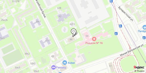 Социально-реабилитационный центр для несовершеннолетних Фрунзенского района. Схема проезда в Санкт-Петербурге