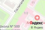 Схема проезда до компании Кафе в Санкт-Петербурге
