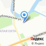 БогатТранс на карте Санкт-Петербурга