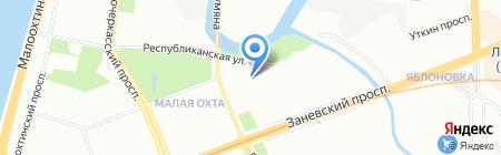 АРС-Сервис на карте Санкт-Петербурга