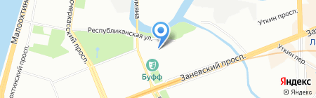 БММ на карте Санкт-Петербурга