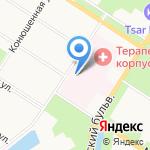 Городская больница №38 им. Н.А. Семашко на карте Санкт-Петербурга
