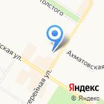 Айболит-99 на карте Санкт-Петербурга
