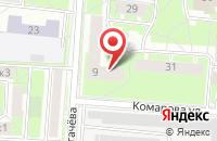 Схема проезда до компании ПыхTeam в Астрахани