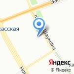Водолей-1 на карте Санкт-Петербурга