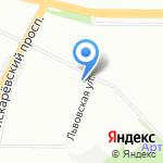 Петросет на карте Санкт-Петербурга
