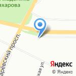 Мастерская по резке стекла на карте Санкт-Петербурга