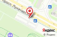 Схема проезда до компании Глория в Крымске