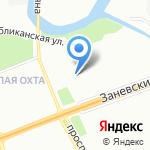 Стеклодувная мастерская на карте Санкт-Петербурга