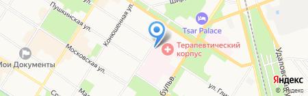Женская консультация №44 на карте Санкт-Петербурга