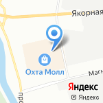 Acoola на карте Санкт-Петербурга