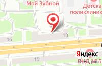 Схема проезда до компании Универсаль в Санкт-Петербурге