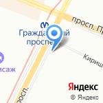 Норман на карте Санкт-Петербурга