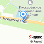МДТ на карте Санкт-Петербурга
