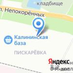 Милком на карте Санкт-Петербурга