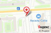 Схема проезда до компании Мегапринт-Сити в Санкт-Петербурге