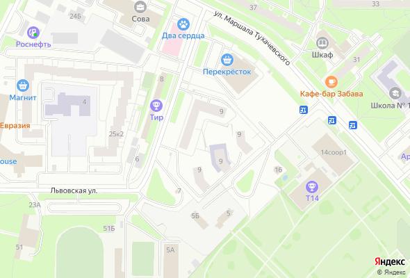 ЖК Дом на Львовской