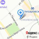 Армида на карте Санкт-Петербурга