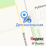 Хельга на карте Санкт-Петербурга