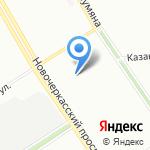 Школа №609 на карте Санкт-Петербурга