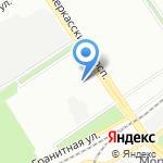 Рубин на карте Санкт-Петербурга