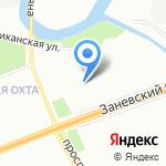 52 отдел полиции Управления МВД Красногвардейского района на карте Санкт-Петербурга