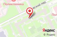 Схема проезда до компании Лаборатория Дизайна в Санкт-Петербурге