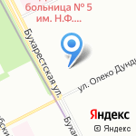 Рулевой на карте Санкт-Петербурга
