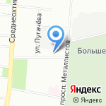 Альтернатива на карте Санкт-Петербурга