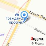 Золотые руки на карте Санкт-Петербурга
