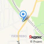 Вир на карте Санкт-Петербурга