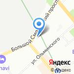 Секрет красоты на карте Санкт-Петербурга