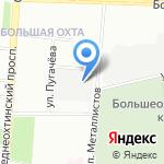 Невзапмаш на карте Санкт-Петербурга