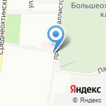Санкт-Петербургская ритуальная компания на карте Санкт-Петербурга