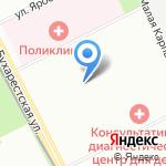 Саджест на карте Санкт-Петербурга